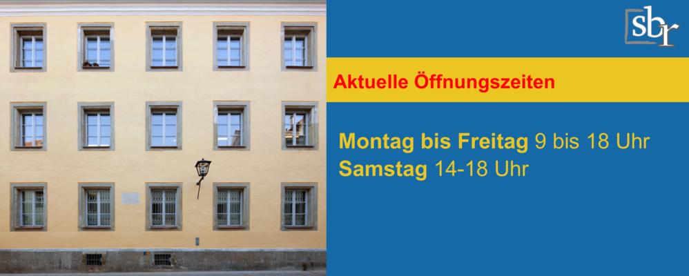 Bibliothek Regensburg öffnungszeiten